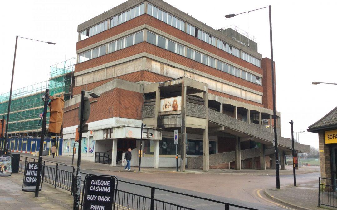 Council Kickstarts Regeneration of St James' House, Queen Street in Town Centre