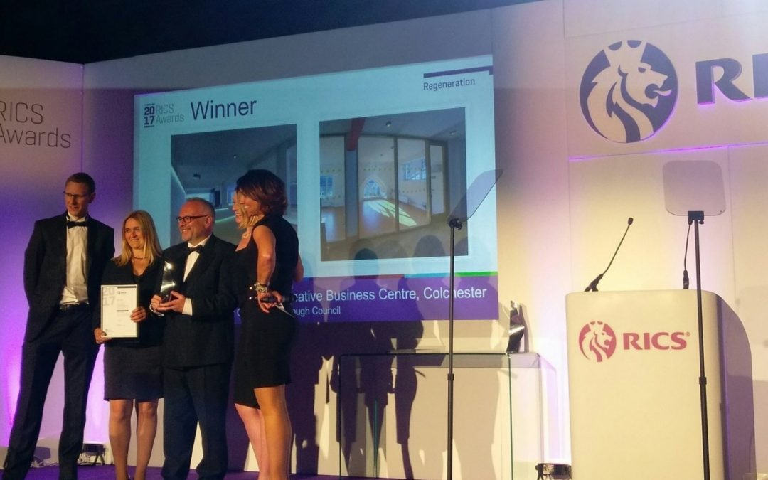 Council's Economic Growth Team Wins RICS Regional Regeneration Award