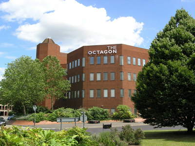 Octagon office building Middleborough Colchester