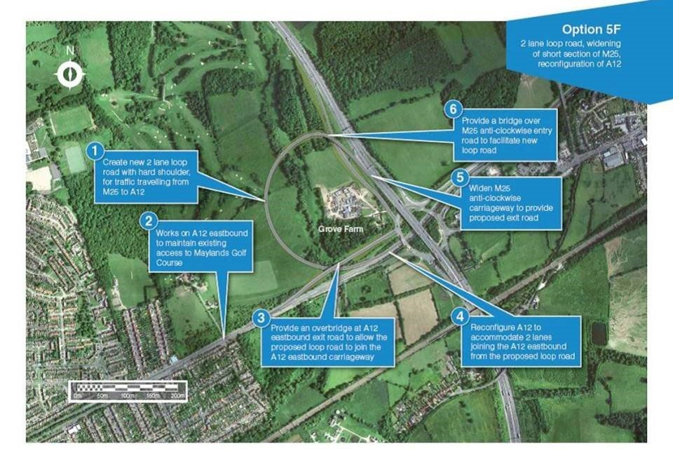 M25 Junction 28 Upgrade Announced by Highways England