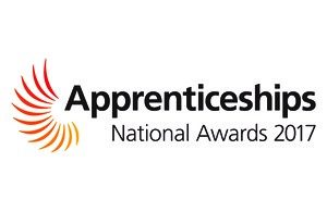 Ginger Nut Media wins collected the Small Employer of the Year award in East of England Apprenticeship Awards