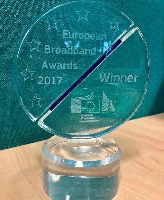 Colchester Borough Council wins prestigious EU Broadband Award