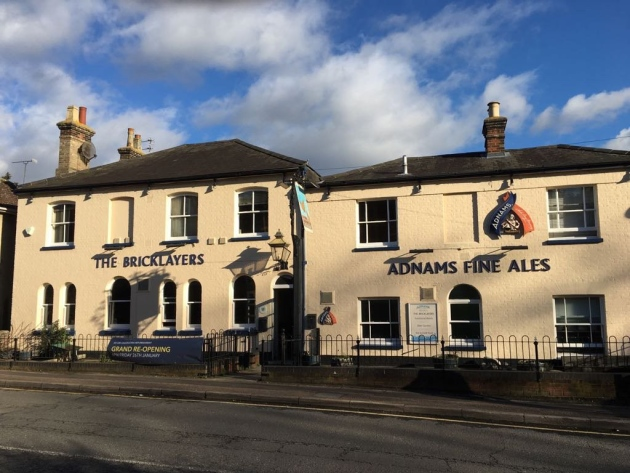 Adnams sells the Bricklayers Arms to North Essex Flying Trade Group