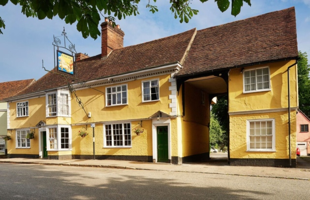 'The Sun', Historic Constable Country Coaching Inn, Reopens after £150,000 Refurbishment