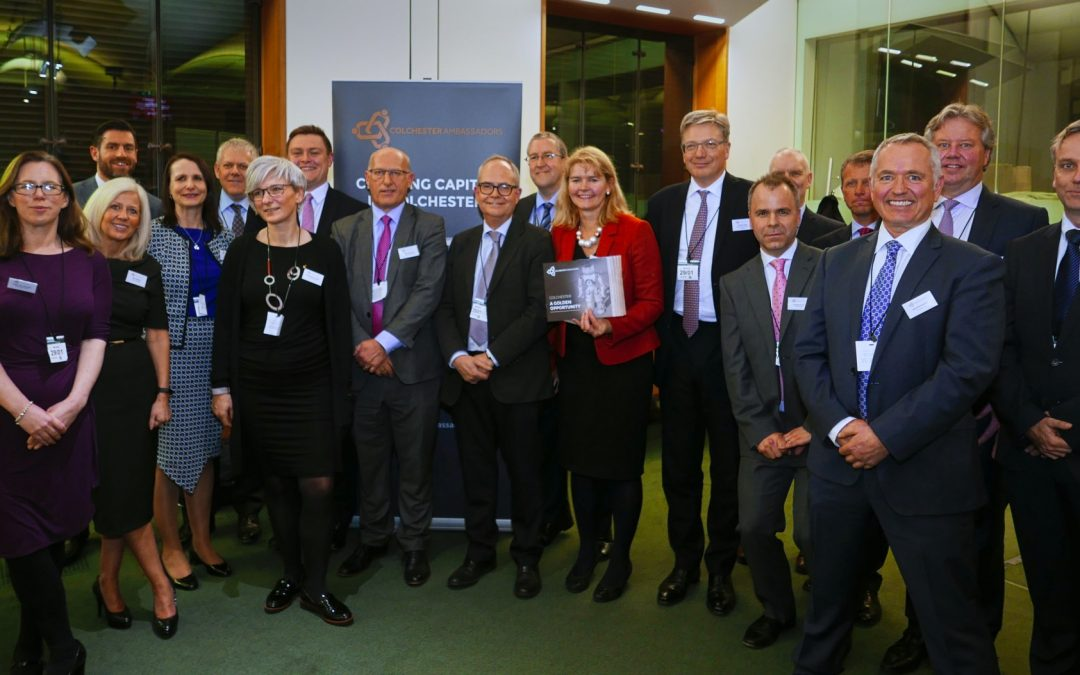 Business Leaders Promote Colchester for Inward Investment at Reception in Parliament