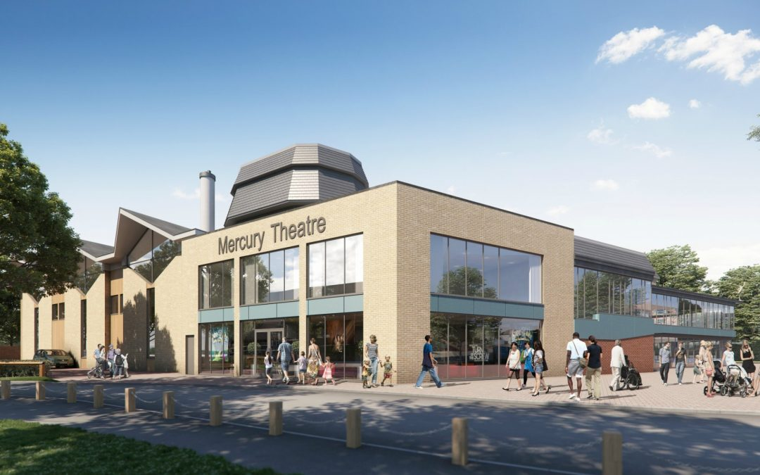 Mercury Theatre's £9m redevelopment confirmed following another major funding award