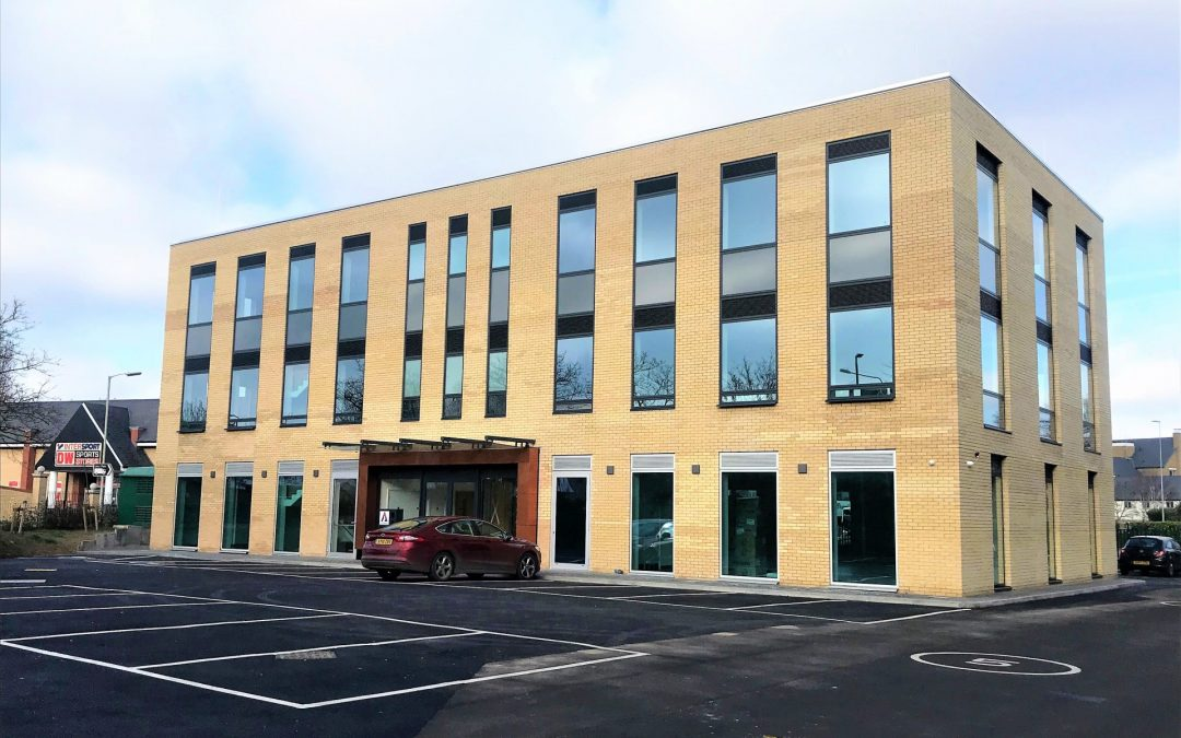 Construction Completes on Second Amphora Place Office Development in Colchester