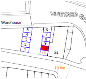 3 Car Park Spaces – Osbourne Street