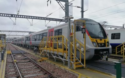 The First of Greater Anglia's New Trains Arrives in Essex for Testing
