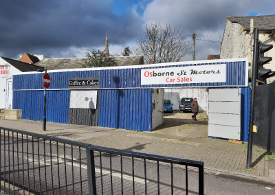Car Yard with Potential Burger Bar to let in Central Colchester